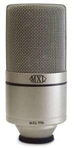 MXL 990 small diaphragm condenser mic