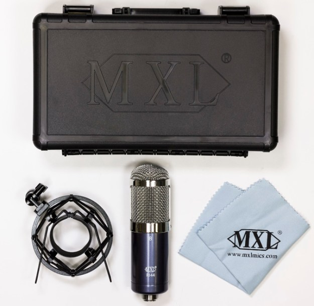 mxl r144 ribbon mic what's in the box, kit and accessories