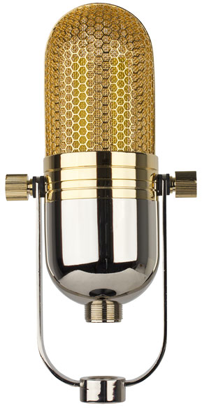 back of MXL R77 Ribbon Microphone