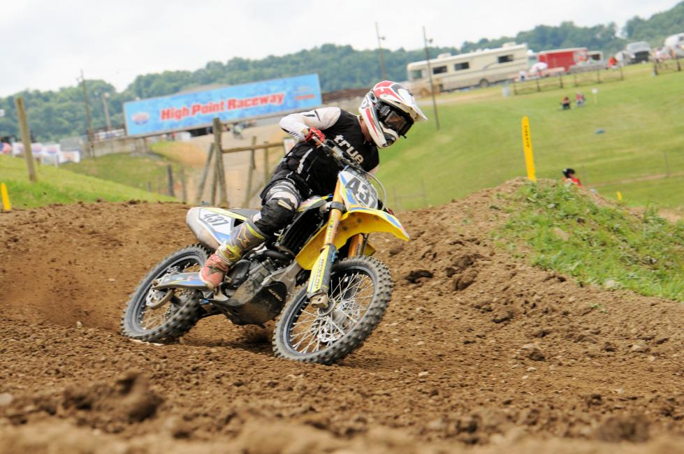 Vincent Luhovey was second in the All Star 250 A/B class and third in the Open A class.