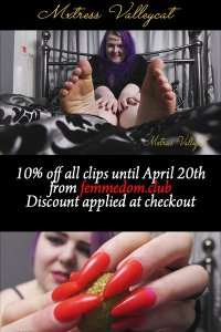 10pct 200x300 - 10% off at Clips4Sale