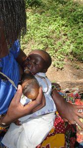 19 mother feeding child