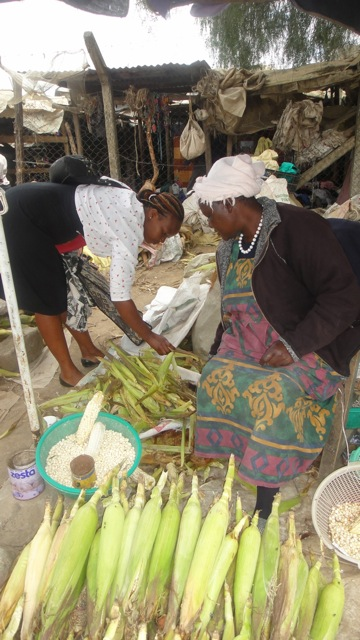 2015-15 1 Janet selects cornhusks at market