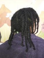 routine capillaire des cheveux naturels afro, bouclés/frisés