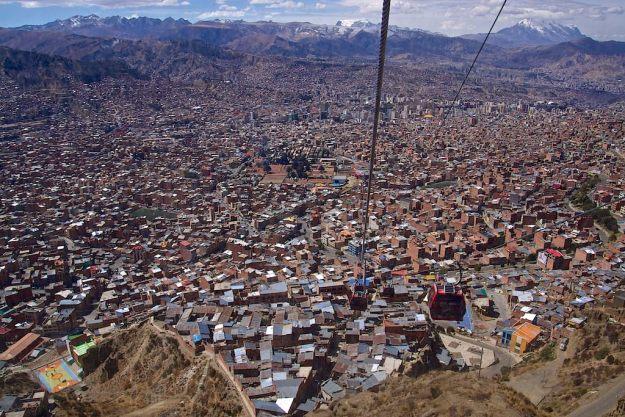 El Alto und La Paz