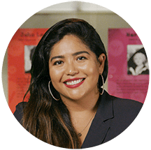 Julissa Arce is a writer featured in the exhibit My America: Immigrant and Refugee Writers Today