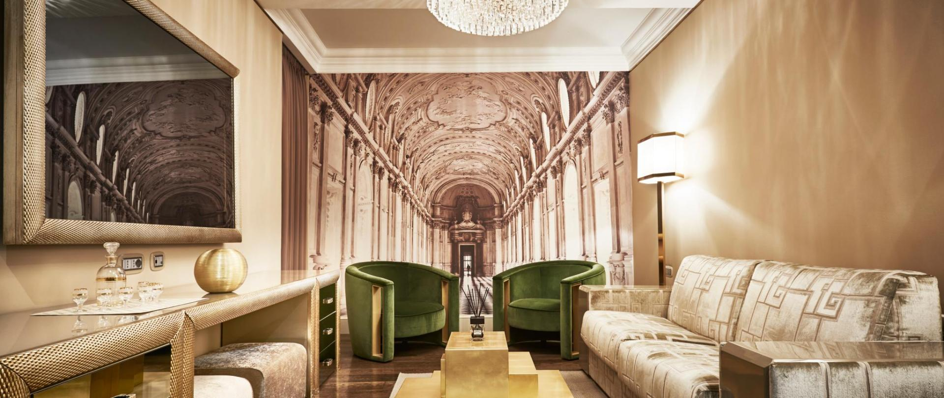 Luxury hotel in Rome: Spanish Royal Suite