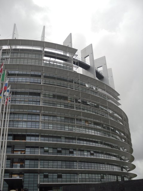 , From the past to the future in Strasbourg