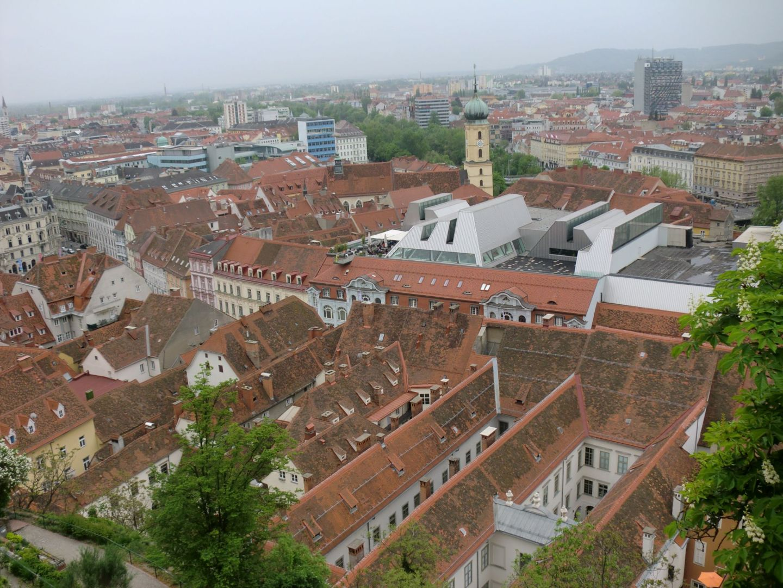 Graz view 7 - Graz: tradition and modernity