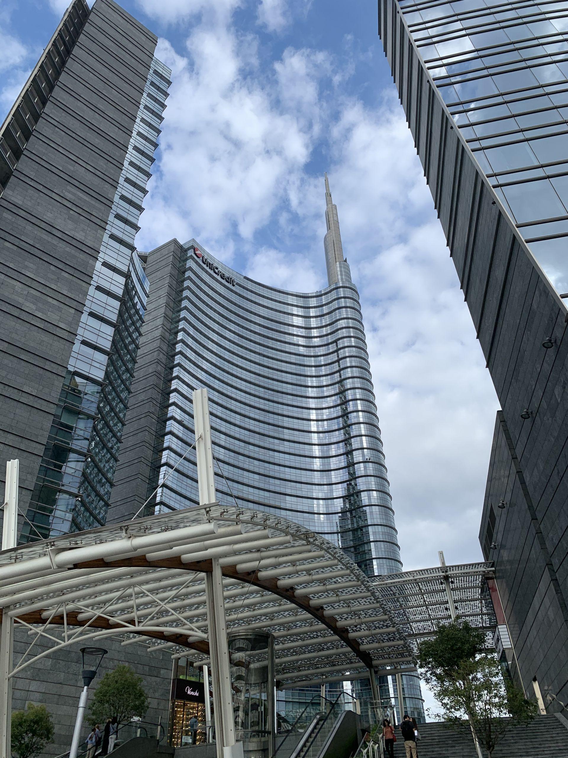 Modern architecture in Milan