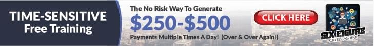 How to Generate $250-$500 payments multiple times a day