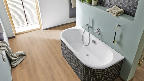 Badezimmer mit Project Floors SPC-Core Collection_PW4011