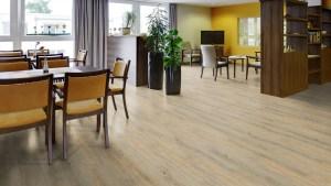 Kaffeteria mit Project Floors looseLay PW 3020