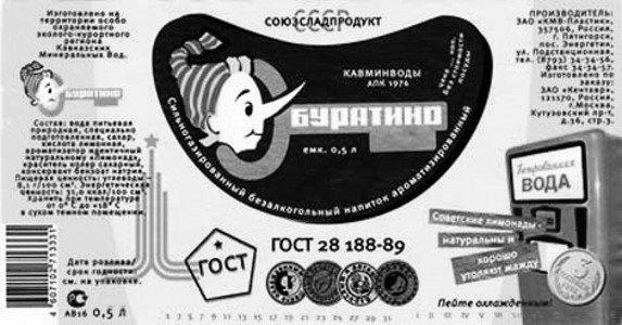 Лимонад «Буратино» из СССР