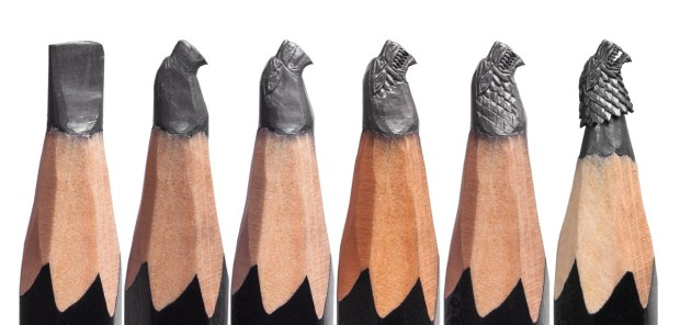 GAME OF THRONES Pencil Microscupture Exhibition - Making of the Stark Si.._.jpg