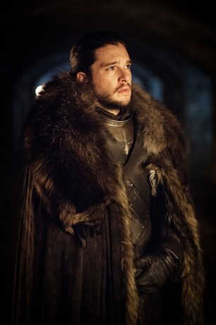 Kit Harington as Jon Snow. Credit - Helen Sloan_HBO