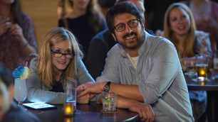 "Holly Hunter as ""Beth"" and Ray Romano as ""Terry"" in THE BIG SICK. Photo by Nicole Rivelli."