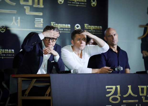 KINGS MAN: GOLDEN CIRCLE  PRESS CONFERENCE