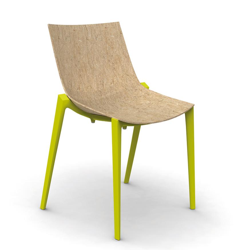 Zartan, la chaise naturelle et écologique by Philippe Stark pour Magis