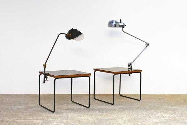 exposition de luminaires design vintage chez ligne roste. Black Bedroom Furniture Sets. Home Design Ideas