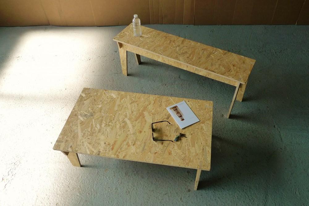 Le mobilier éco design Cheap is Good est fabriqué en France