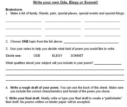 Doc600580 Poetrys Analysis Template Sample Poetrys Analysis – Rhetorical Devices Worksheet