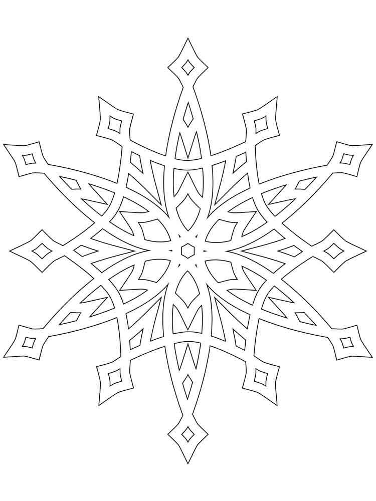 Картинка вырезать снежинки