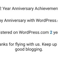 Today is my 2 year blogging anniversary