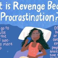 The symptoms of revenge bedtime procrastination?