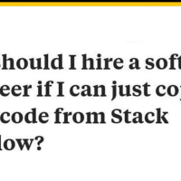 Why I should hire a software engineer?