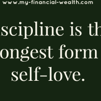 Discipline is the strongest form of self-love