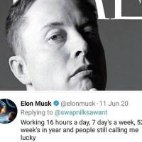 People still call Elon Musk lucky