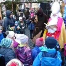 Der Nikolaus auf dem Nikolausmarkt Bopfingen