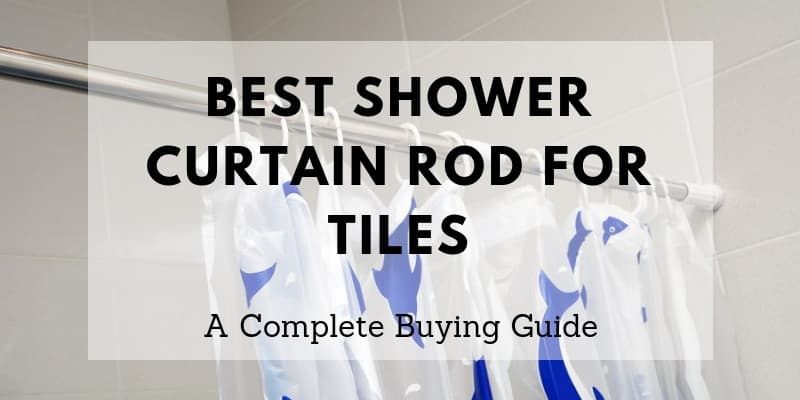 best shower curtain rod for tiles top