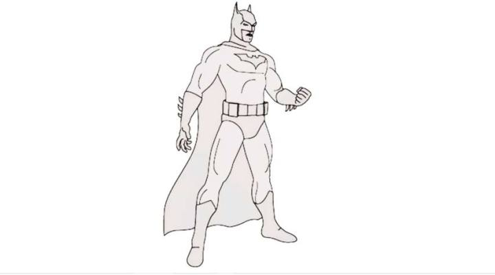 How to Draw Batman Images