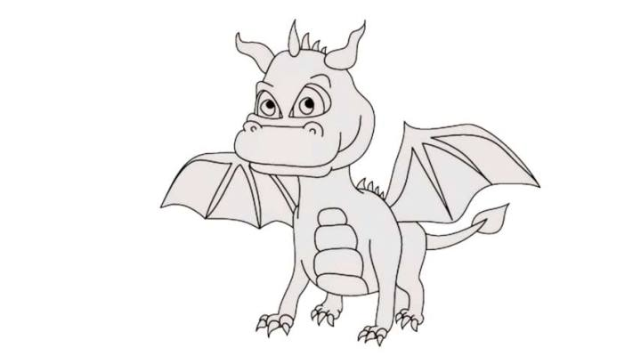 How to Draw Dragon Cartoons – Images