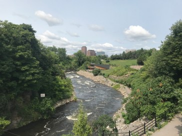 Rapids in downtown Ottawa