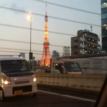I kept expecting to see Godzilla climbing Tokyo Tower