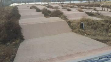 Concrete mtb/bmx course