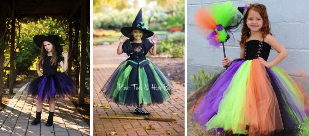 Witch kostume til pige