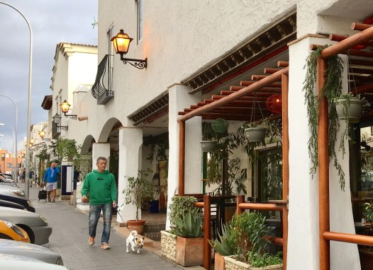 Beautifully designed streets of Restaurants every where you look.