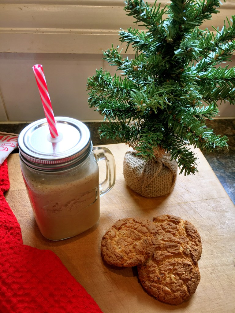 Ginger infused iced chocolate