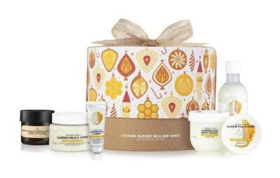 The Body Shop Soothing Almond Collection