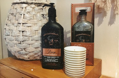 The new aromatherapy range by Bath and Bodyworks