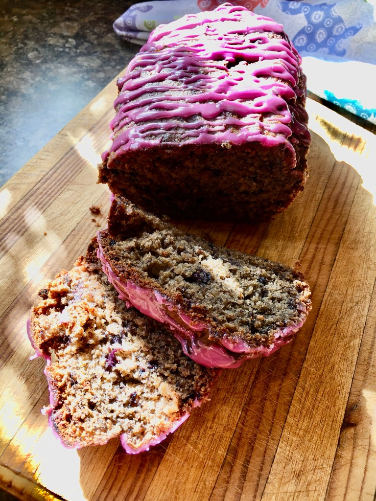 gluten-free blueberry bread