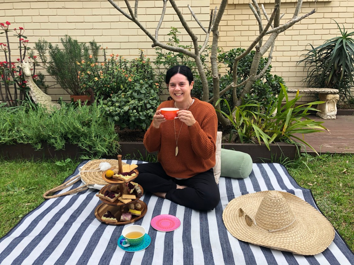 high tea for two at home