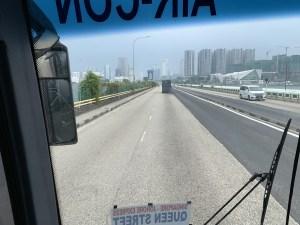 シンガポールとマレーシアを結ぶ町