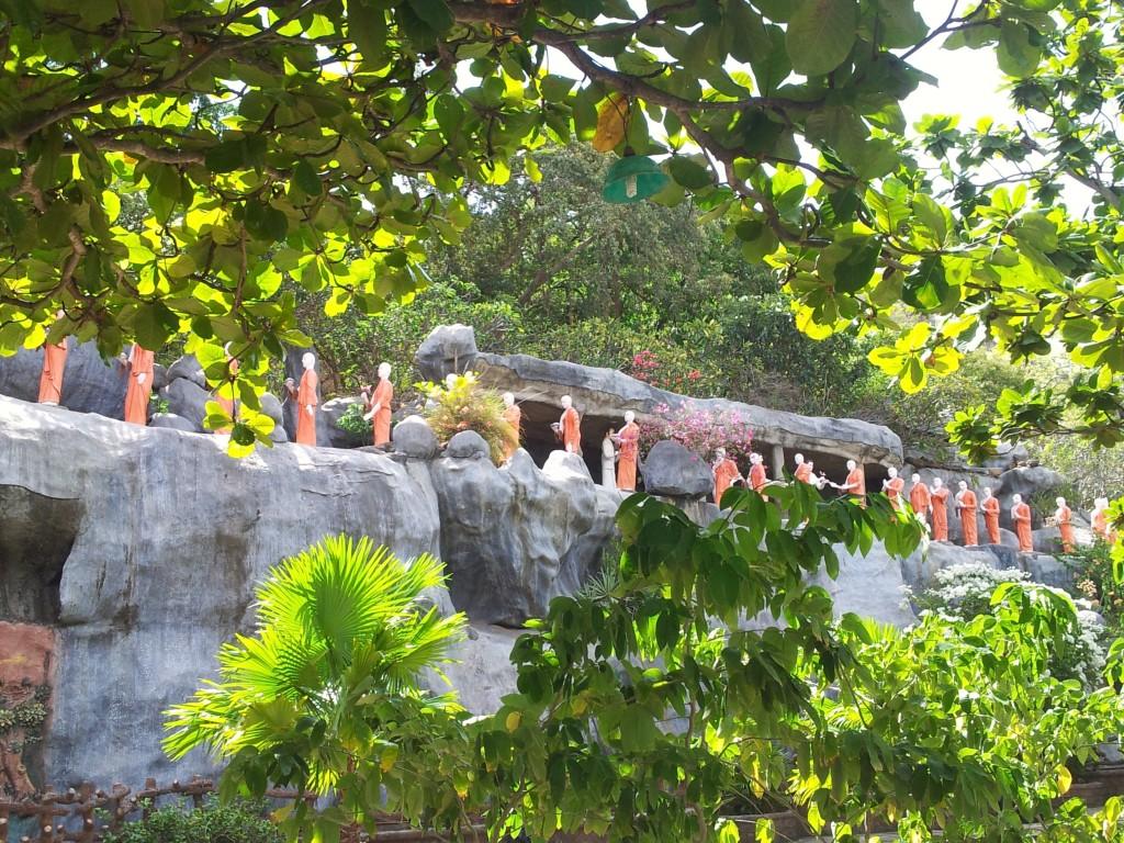 Grottes de Dambulla au SRi Lanka