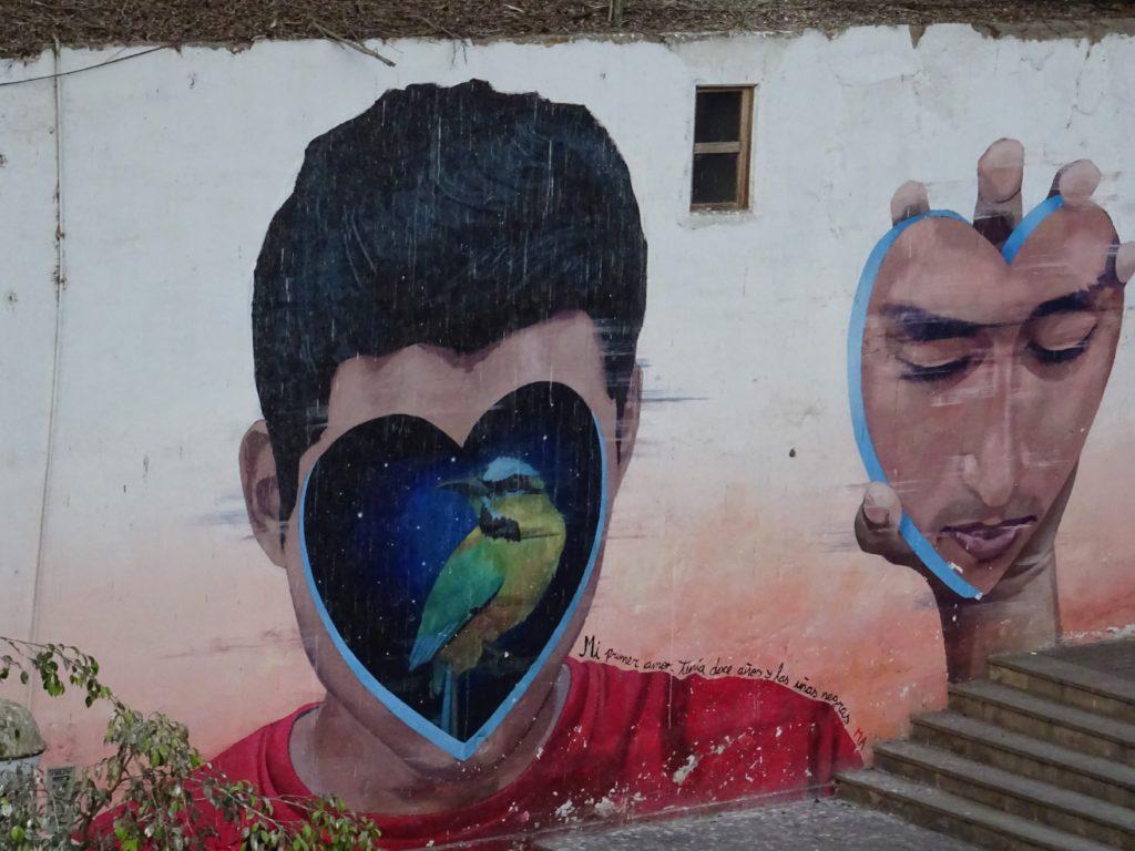 Street art Lima au Pérou