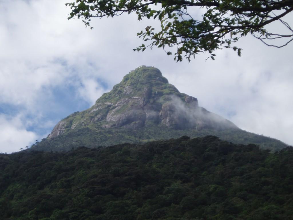 Pic d'Adam SRi Lanka
